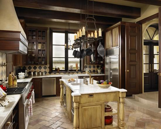 Пол на кухне.
