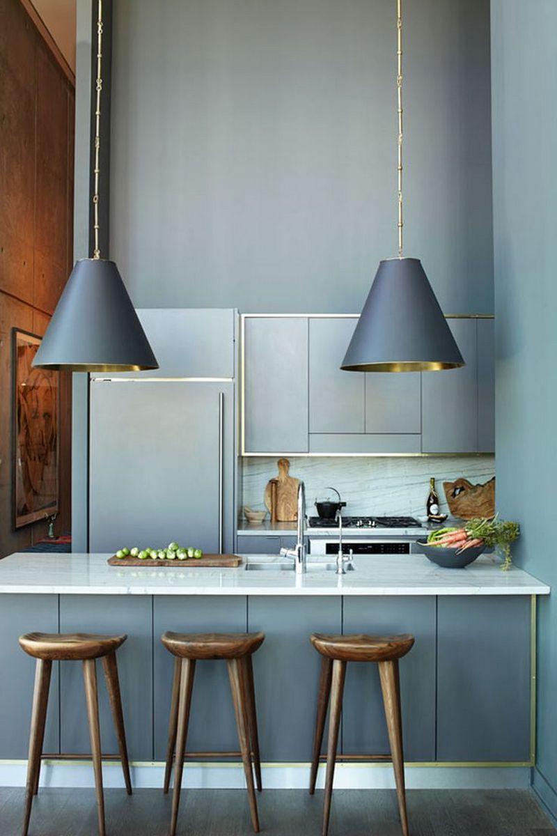 Правила сочетания серого цвета с другими цветами в дизайне кухни
