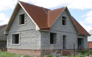 Правила строительства домов из пеноблоков