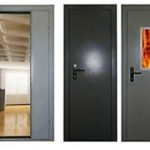 Преимущества металлических противопожарных дверей
