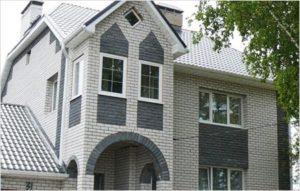 Преимущества строительства частного дома из кирпича