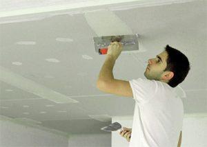Приводим в порядок потолок в квартире