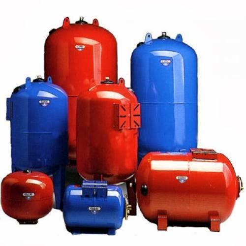 Расширительный бак для системы отопления, давление, принцип работы