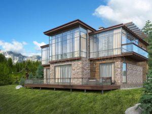 Развитие современного строительства загородных домов, применяемые в строительстве материалы