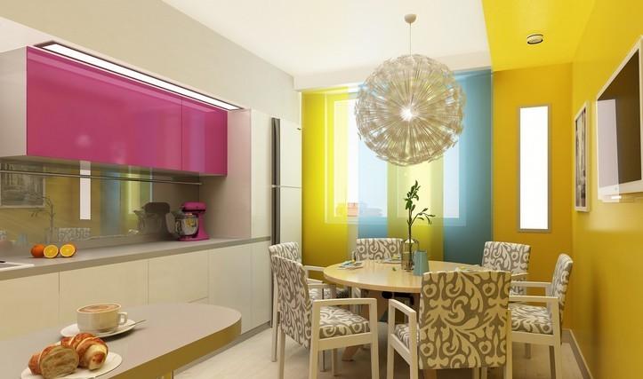 Ремонт кухни — дизайн, который всех удивит