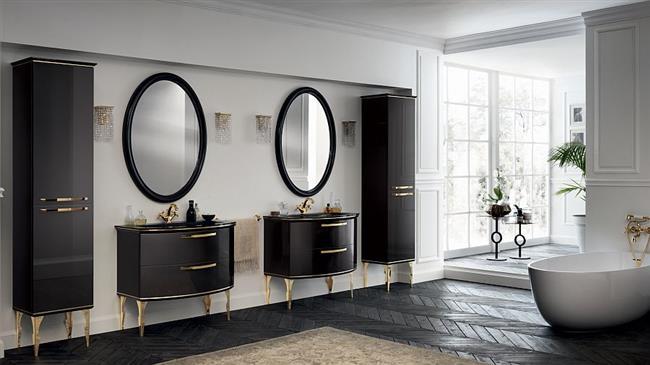 Роскошная итальянская мебель для современных ванных комнат: 12 лучших идей