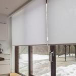 Рулонные шторы на окна: 50 красивых вариантов