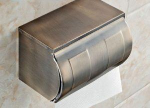 Самые популярные виды держателей туалетной бумаги