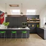 Серый цвет в интерьере: 25 великолепных кухонь серого цвета