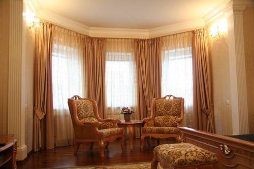 Шторы и портьеры в интерьере комнат