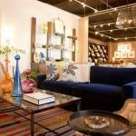 «Синий диван в интерьере: любимец дизайнеров»