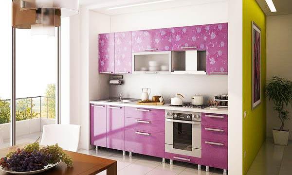 Сиреневая кухня: делаем интерьер неповторимым