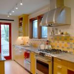 Сочетание цветов в интерьере кухни