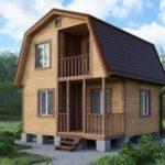 Современные проекты домов эконом класса