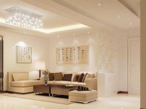Современный декор потолка