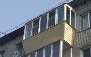 Создание дополнительного пространства с помощью выноса балкона