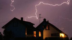 Создание защиты от молнии в частном доме