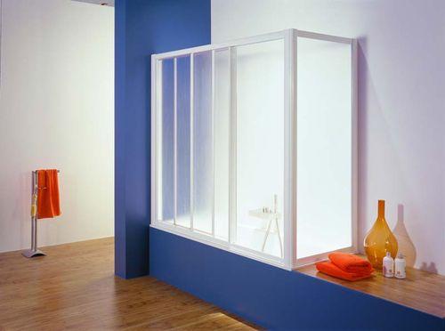 Стеклянные шторы для ванной комнаты: функционально и красиво