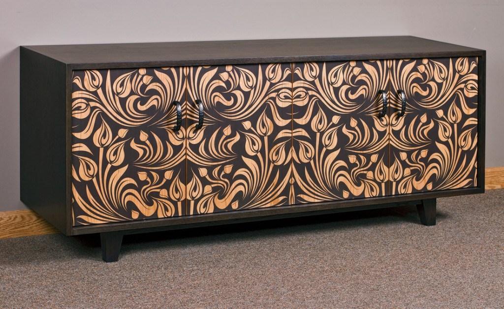 Стильные цифровые печатные шаблоны на мебели