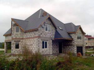Строим дом … из пенобетона!