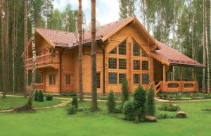 Строительство домов из оцилиндровнаного бревна