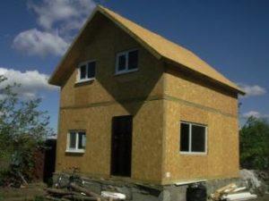 Строительство домов из СИП-панелей – экономия времени и денег