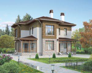 Строительство небольших домов из газобетона
