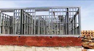 Строительство при помощи металлического каркаса