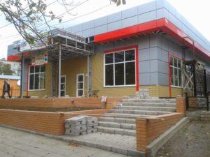 Технология строительства магазина