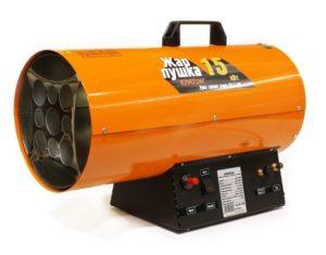 Тепловые пушки для обогрева промышленных помещений