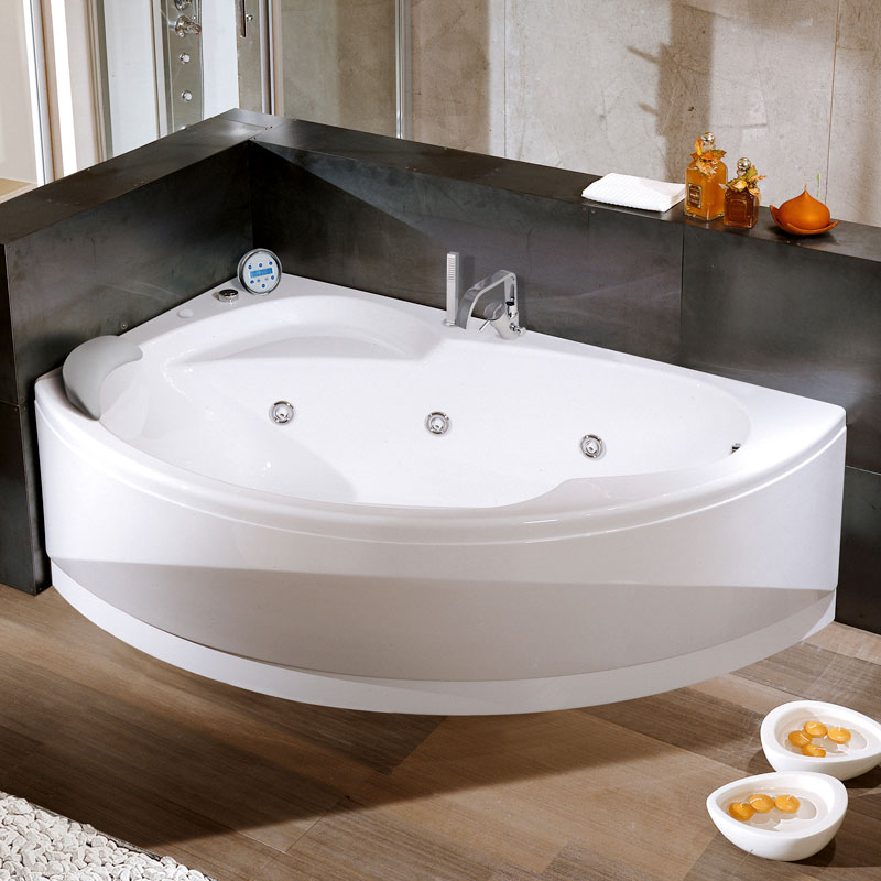 Угловые ванны: 110 фото красивых угловых ванн в интерьере