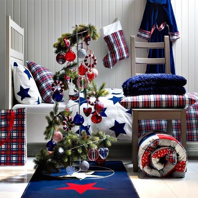 Украшаем спальню к Новому году: 11 самых лучших праздничных идей!