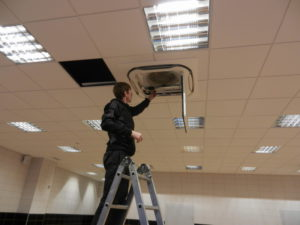 Установка сплит-системы для офиса и дома