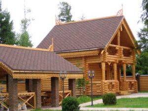 Все плюсы строительства дома из рубленого бревна