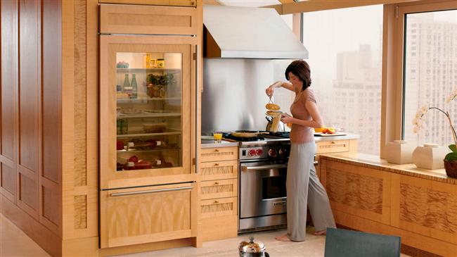 Встроенные холодильники для кухонь: современные идеи в подробном фото-отчете
