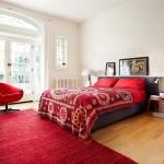 Выбираем цвет для спальни: 19 ярких, стильных и необычных комнат в серых и красных тонах!