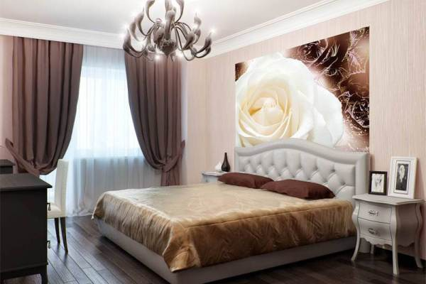 Выбираем обои для спальни (100 фото, видео)