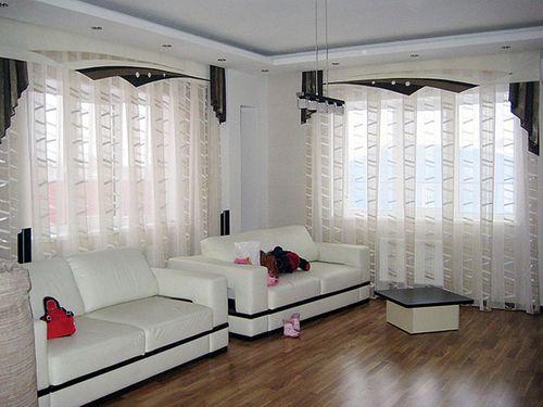 Выбираем тюлевые шторы для квартиры