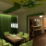 Выясняем какой цвет сочетается с зеленым в интерьере кухни