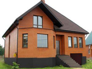 Затраты на строительство дома из кирпича