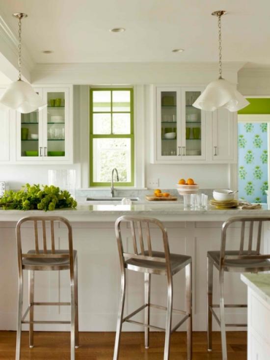 Зеленый цвет в дизайне интерьеров без ошибок.