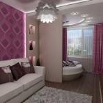 Зонирование гостиной и спальни: правила, приемы, рекомендации
