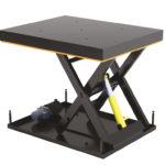 Современное складское оборудование – гидравлический подъёмный стол