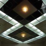 Подвесные потолки из различных материалов
