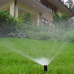 Автоматический полив. Как сохранить красоту газона?