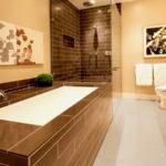 Керамическая плитка в интерьере ванной и кухни
