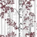 16 необычных обоев с растительным рисунком в интерьере домов и квартир