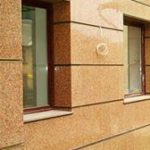 Фасады из светопрозрачных конструкций и керамогранита